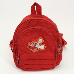 Vintage Totto Mickey Mouse Red Backpack